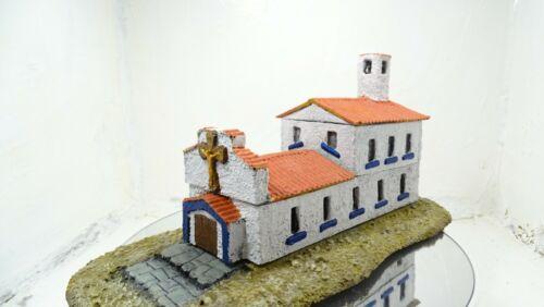 hand cast resin 15mm.1:100 Scale Mediteranean Catholic Church