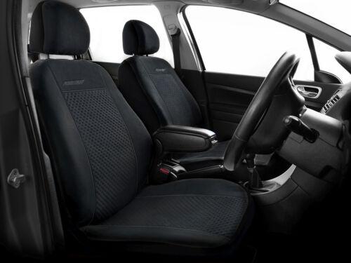 Cubiertas De Asiento De Coche Set Completo Ajuste Dacia Duster-Conjunto Completo Negro