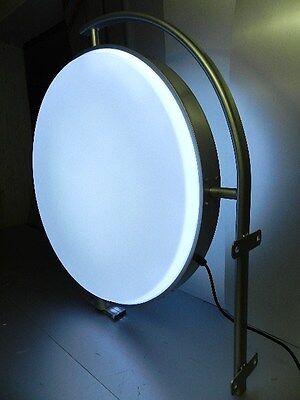 LED Leuchtkasten mit DIGITALDRUCK rund 400 mm Doppelseitig Leuchtreklame Neu
