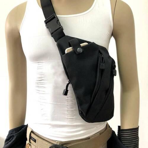 Tactical Storage Bag One Shoulder Anti-Theft Bag Chest Bag Crossbody Belt Bag S3