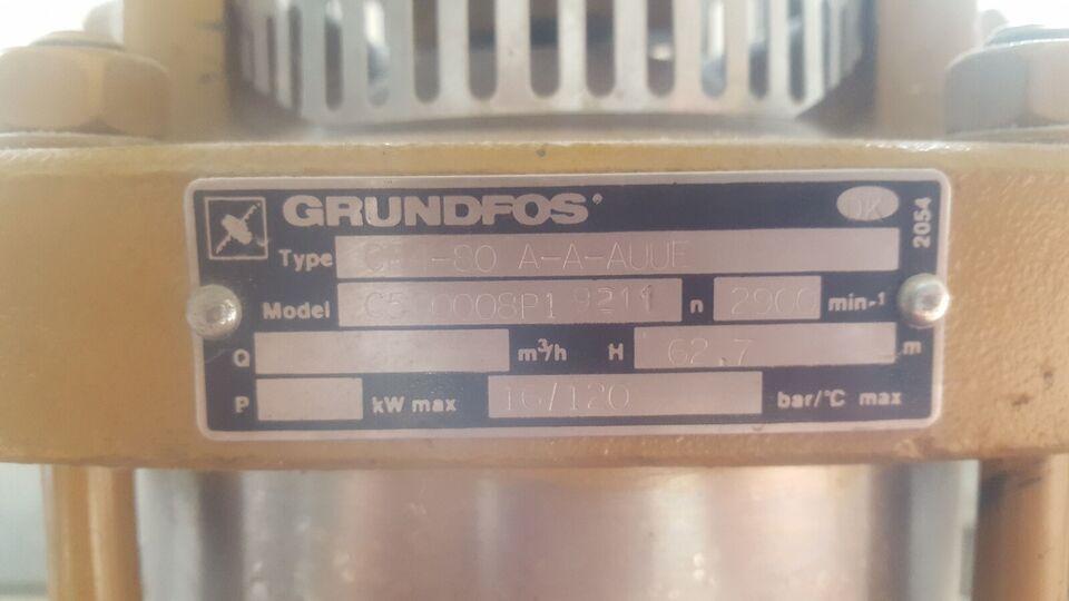 Centrifugalpumpe, Grundfos