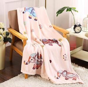 Bohemian-Elephant-Ultra-Plush-Soft-amp-Cozy-Fleece-Throw-Blanket-Pink