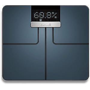 SMART biometrici Garmin Index PESATURA SCALANero