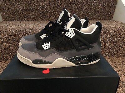 san francisco f950a 1de45 Pre-owned Mens Nike Air Jordan Retro 4, Fear Size 11.5. VGC!! | eBay