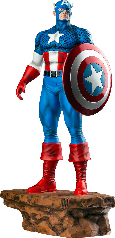 Capitán América - 1   6 edición limitada de estatuas (colección ikon)