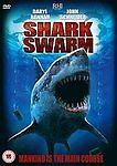 1 of 1 - Shark Swarm [DVD] [2008], Good DVD, Daryl Hannah, John Schneider, James A. Contn