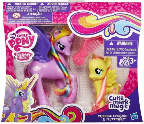 MY LITTLE PONY Personaggi PRINCESS STERLING /& FLUTTERSHY Hasbro A9882