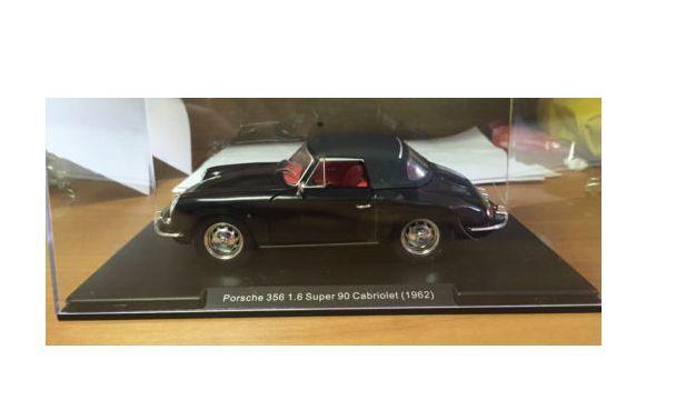 Porsche 356 1.6 Super 90 Cabriolet 1962 1 24 scale