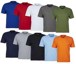 Guenstige-T-Shirts-mit-Rundhals-Ausschnitt-Shirt-Unterhemd-Herren-TShirt-Shirts