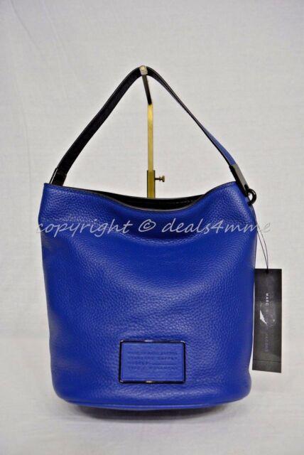 d617da780d08 MARC By Marc Jacobs M0007264 Ligero Bucket Bag-Shoulder Crossbody Bag True  Blue