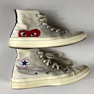 Converse-x-Comme-Des-Garcons-Play-Chuck-Taylor-70s-Hi-Mens-8-Shoes-Womens-10