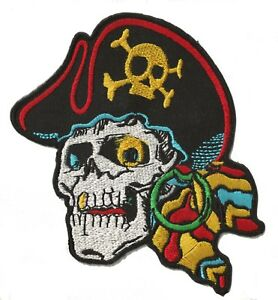 Ecusson-patche-Pirate-badge-patch-DIY-creation-vetements-thermocollant-brode