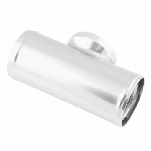 """2.5/""""63MM Flange Adapter Piping HKS SSQV SQV BOV Blow Off Valve Tube Pipe Silver"""