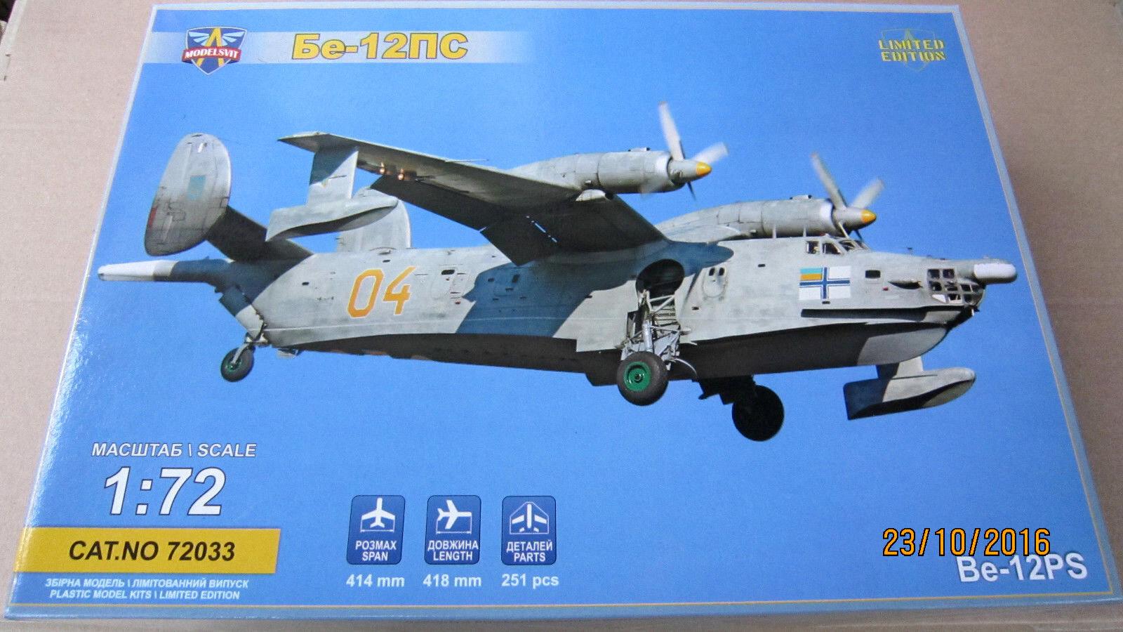 Beriev Be-12PS 'Chayka Mail' Reconnaissance Aircraft 1 72 Modelsvit