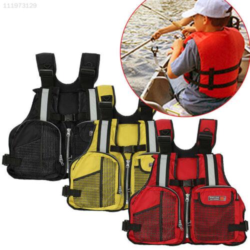 4180 Nylon Fishing Life Jacket Floating Jacket Rescue Sea Sailing Fishing Vest