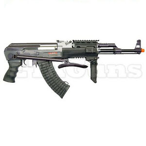 NEW-400-FPS-JG-AEG-Airsoft-AK47-AK-47-RIS-Electric-Metal-AEG-Rifle-Gun-0513MG