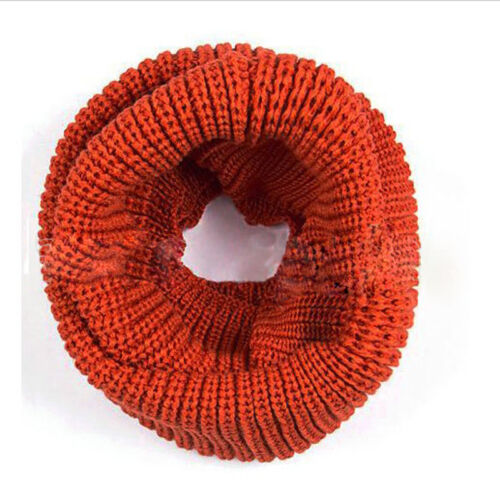 Doux Femmes Hiver chaud Infinity Cable Knit Cowl Neck Long écharpe Châle charme