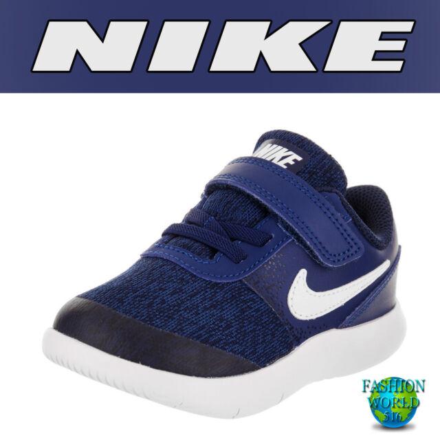 brand new 8057f 0b455 Buy Nike Toddler Size 6c Flex Contact (tdv) Shoes Gym Bluewhite 917935-400  online  eBay