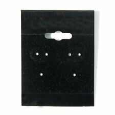 100pcs Earring Display Hanging Card Blk 1 12 X 2 With L Lip For Spinner Hang