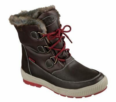 Skechers Woodland Dry Quest Damen Winterstiefel Boots Chocolate Gr 36 41   eBay