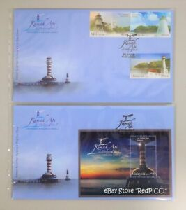 MALAYSIA-Lighthouses-In-Malaysia-Series-2-2013-Stamp-amp-Miniature-Sheet-FDC