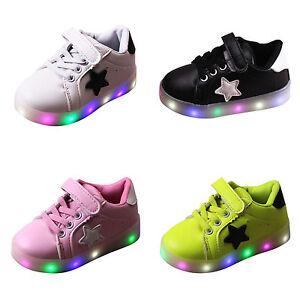 kinder led blinkschuhe licht schuhe kinderschuhe sneakers. Black Bedroom Furniture Sets. Home Design Ideas