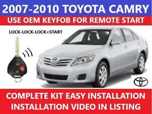 plug \u0026 play remote start 2007 2010 toyota camry non g key ebayimage is loading plug amp play remote start 2007 2010 toyota