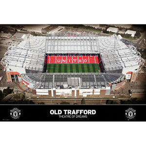Manchester United FC - Theatre of Dreams Old Trafford POSTER 61x91cm NEW stadium