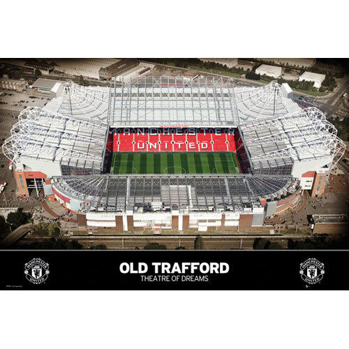 Theatre of Dreams Old Trafford POSTER 61x91cm NEW stadium Manchester United FC