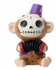 Furrybones Fez Munky Skeleton in Monkey Costume Halloween Figurine