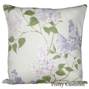 Sanderson Lilacs Floral Cushion Cover