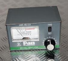 """PAN International """"Model: SWR220"""" 10 Watt Power SWR Meter"""