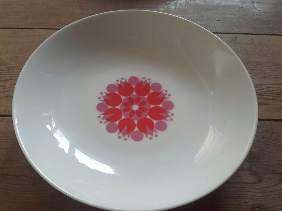 Porcelæn, dybe btallerkner, Thomas G