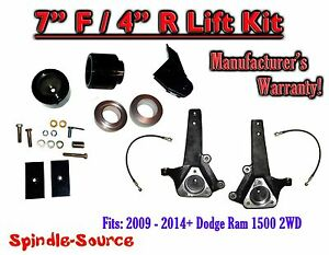 2009 2018 dodge ram 1500 7 inch lift kit 2wd only hemi non image is loading 2009 2018 dodge ram 1500 7 inch lift publicscrutiny Image collections