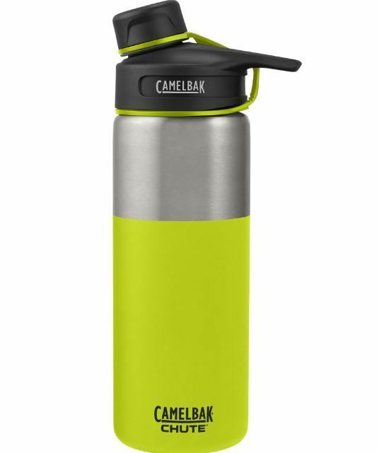 NEW CAMELBAK CHUTE VACUUM INSULATED BOTTLE 0.6L STAINLESS STEEL BPA FREE LIME