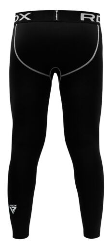 RDX Men/'s Compression Base Layer Pants Running Gym Exercise Jogging Sport X5B