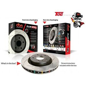 DBA4016S T3 4000 SERIES SLOTTED ROTOR HOLDEN COMMODORE VP VR VS NO IRS REAR PAIR