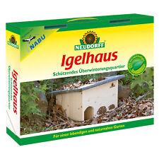 NEUDORFF Igelhaus - Überwinterungsquartier für Igel Winterhaus Schlafhaus