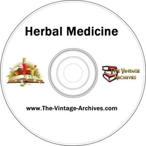 Herbal-Medicine-Vintage-Book-Collection-on-CD-Medicinal-Herbs-Herbal-Herbs