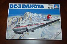 ITALERI 1:72 Scale DC-3 Dakota Model Airplane Kit #132
