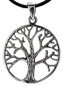 Nr 249 Lebensbaum 925 Silber Anhänger Yggdrasil Keltischer Baum Des