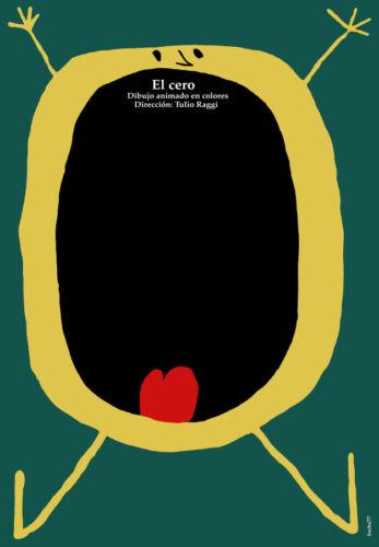 Movie Poster for animated film EL CERO.Funny.Children Room art decoration
