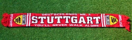"""NEU Stuttgart Schal /""""NUMMER 1/"""" Fan Kurve Ultra Block 100/% Acryl 150x15cm"""