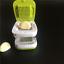 Garlic-Press-and-Mincer-Chopper-Slicer-Hand-Presser-Grinder-Crusher-Kitchen-Tool thumbnail 1