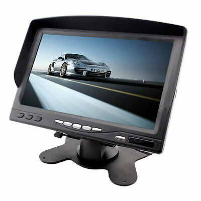 Portable 7 LCD Digital Color Screen Monitor for Car Rear View with Sunvisor IJ