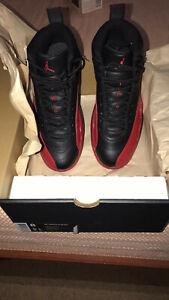 8 Size 12 Nike Bred Juego de Retro Air Flu Jordan qw8I6zW8