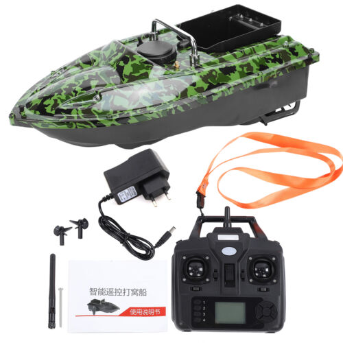 500M Wireless Angel Futterboot Köder GPS Position Fischköder Nistboot Köderboot
