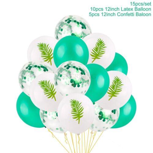15x12/'/' Confetti Latex Balloons unicorn Flamingo Mermaid Wedding Birthday Party