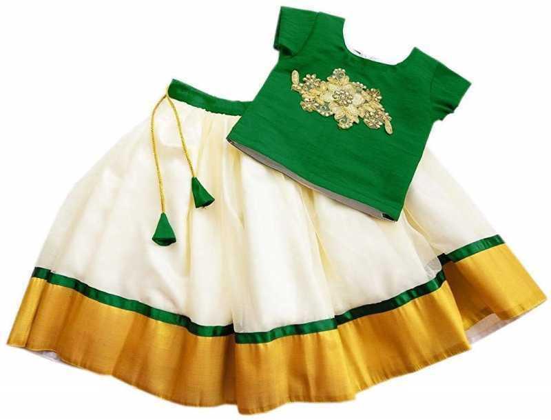 Designer Girls Lehenga Choli, Ready To Wear Kids Lehenga, Party Wear Pavadai,