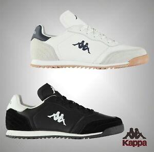 Détails sur Homme de Marque KAPPA LOGO empiècements Upper plus dense DLX Baskets Chaussures Taille 7 11 afficher le titre d'origine